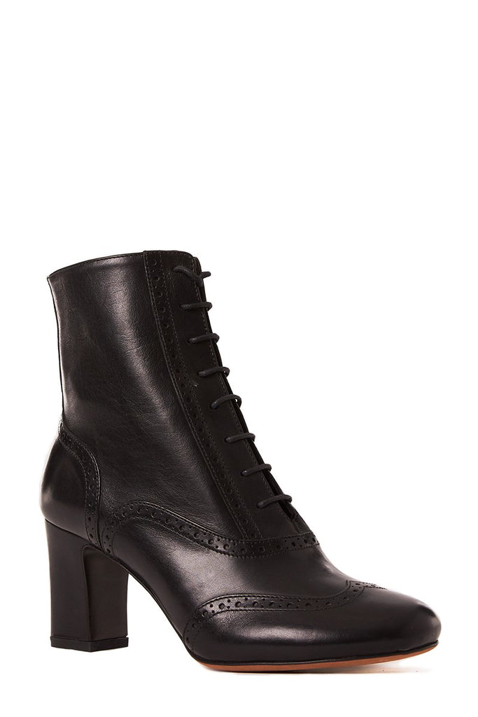 Afton Brogue Lace Up Boots
