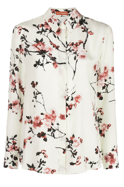 Chika Floral Branch Blouse