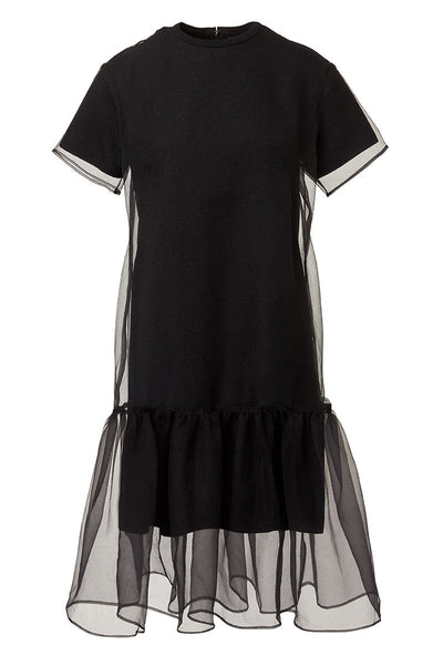 Akira Naka, Layered Organza Dress