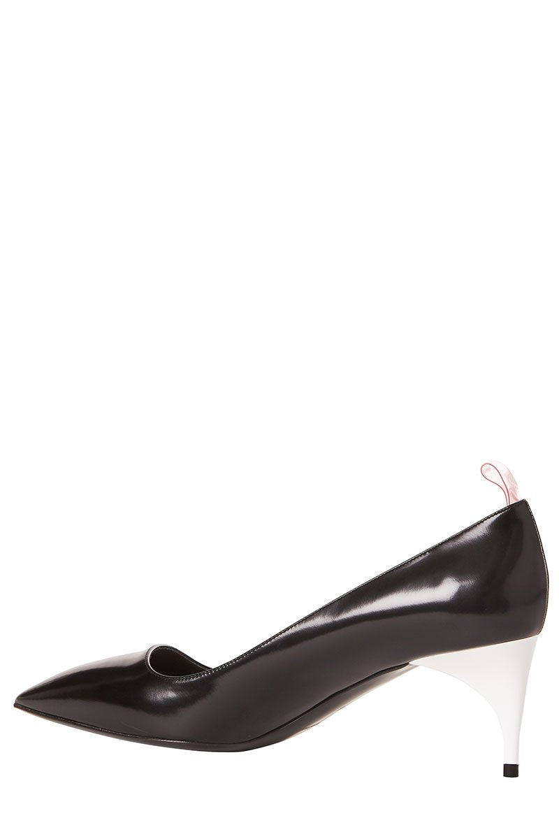 , Leather Pumps