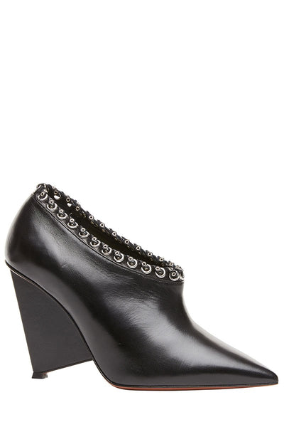 Alain Tondowski, Eyelet Embellished Booties