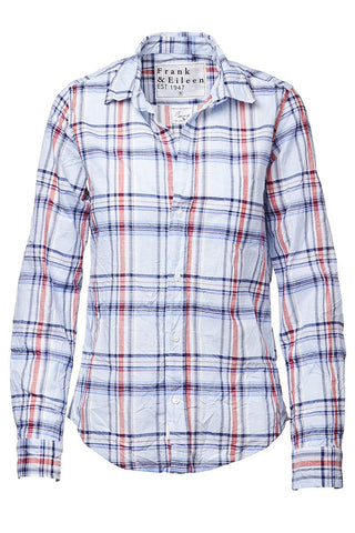 Barry Plaid Button Front Shirt
