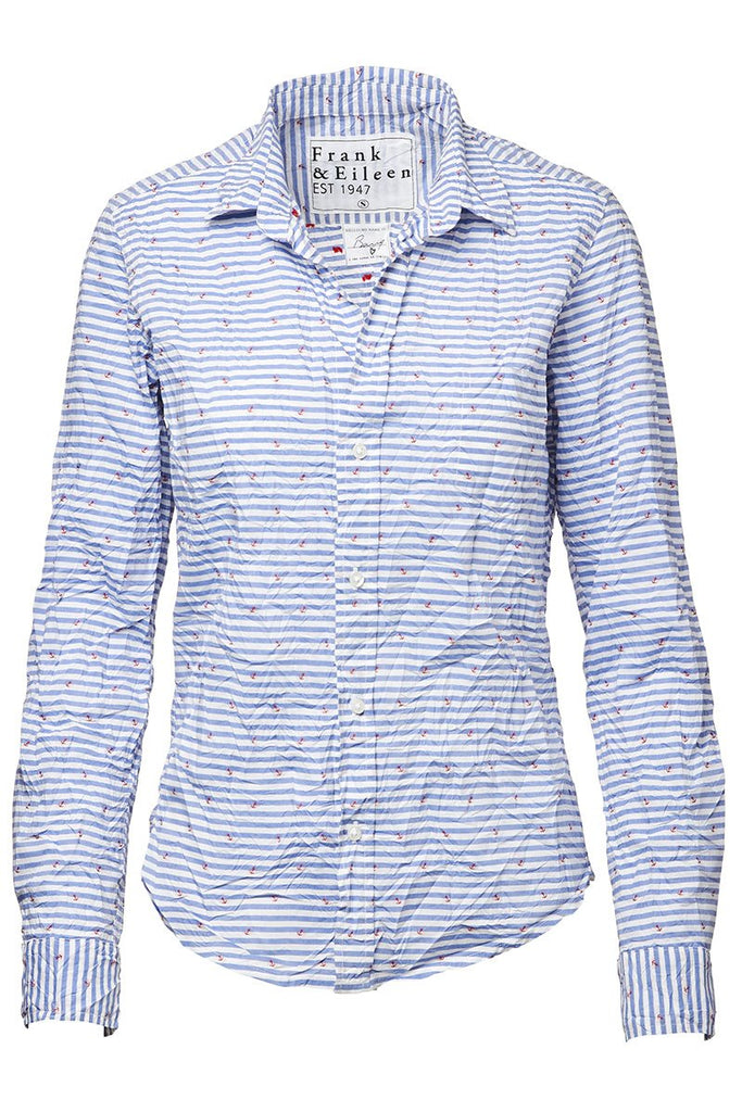 Barry Anchor Button Front Shirt