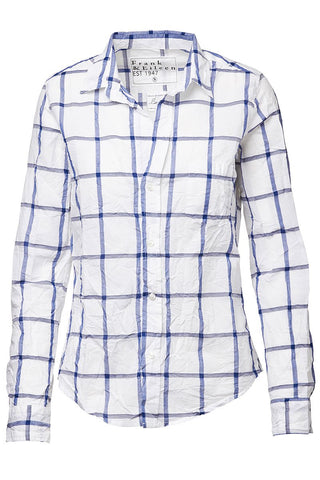 Barry Windowpane Button Front Shirt