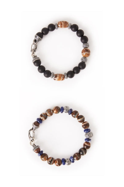 William Henry, Mammoth Bead Bracelets