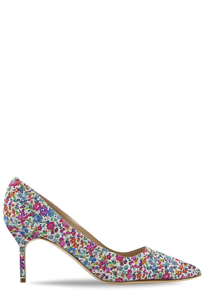 BB Floral Pumps