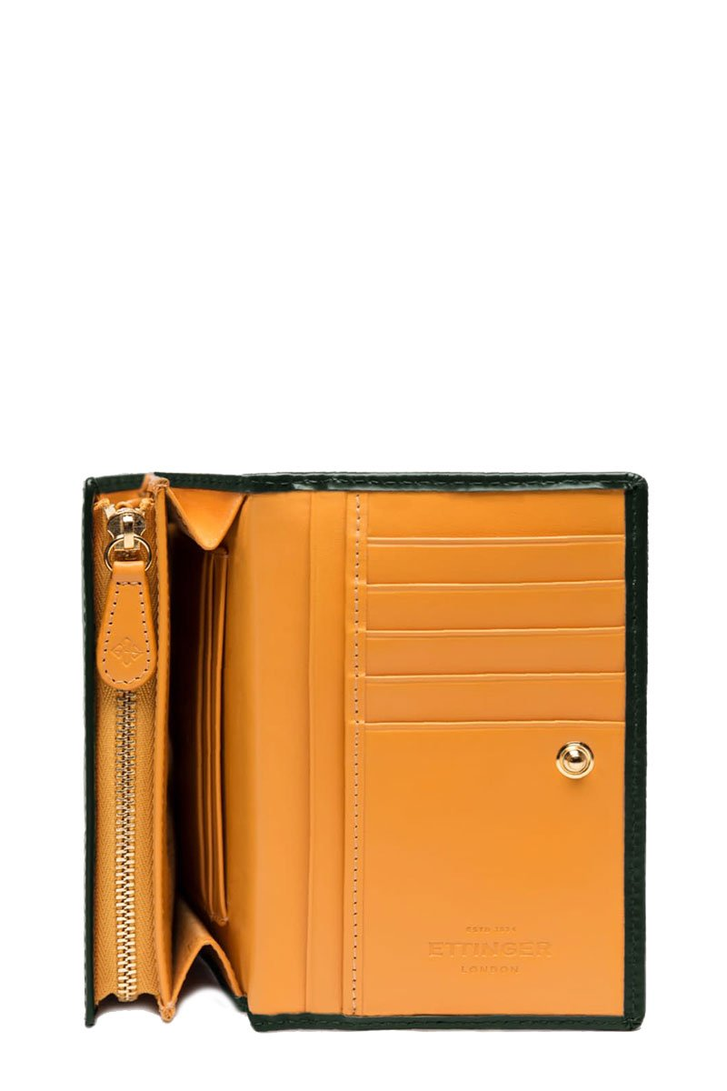 Ettinger, Bridle Hide Flap-Over Wallet