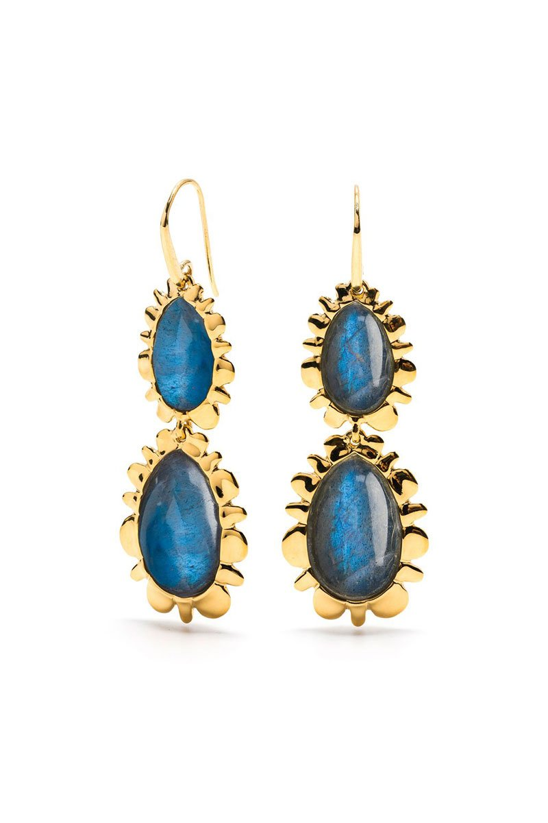 Capucine De Wulf, Bohemienne Double Bliss Drop Earrings