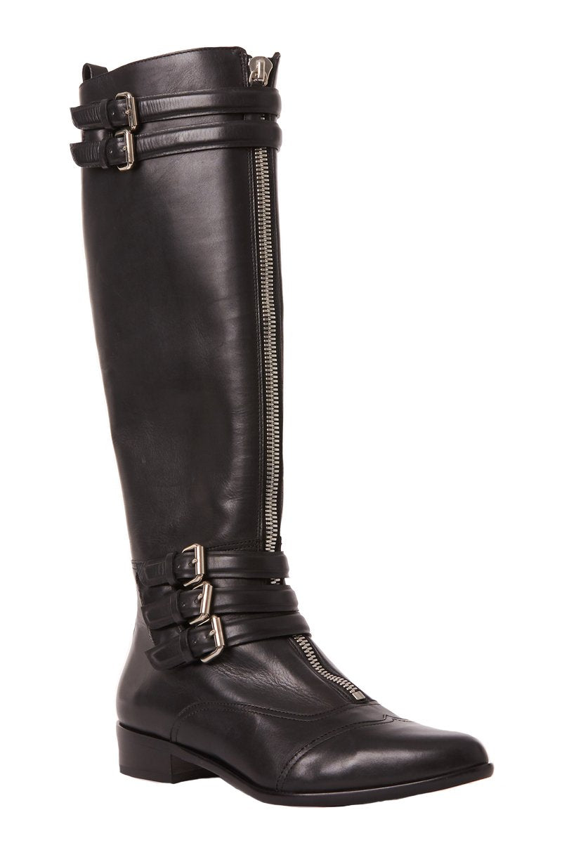 , Janis Leather Boots