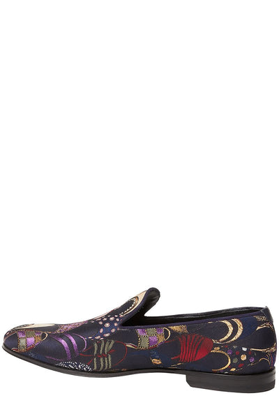 Salvatore Ferragamo, Blondie Jacquard Loafers
