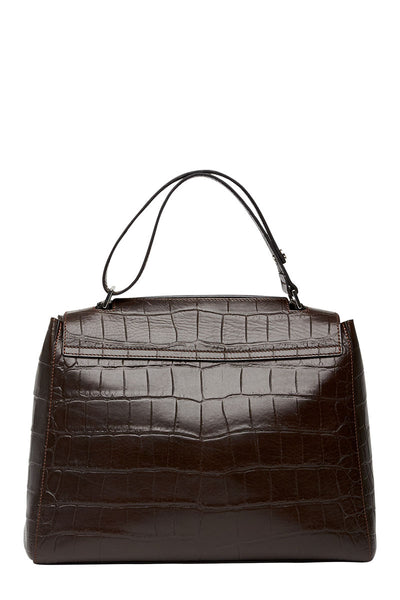 Orciani, Sveva Embossed Shoulder Bag