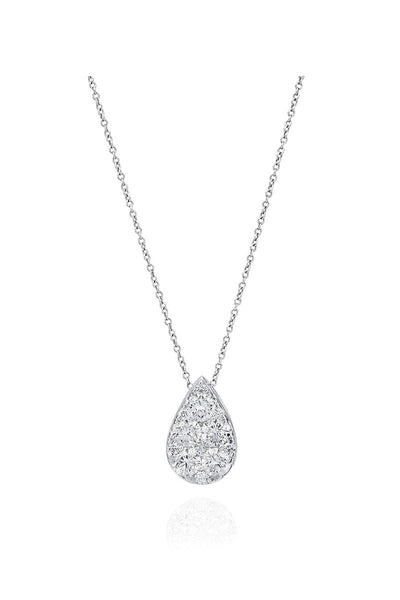 Boyds Essentials, 18k White Gold Diamond Pendant