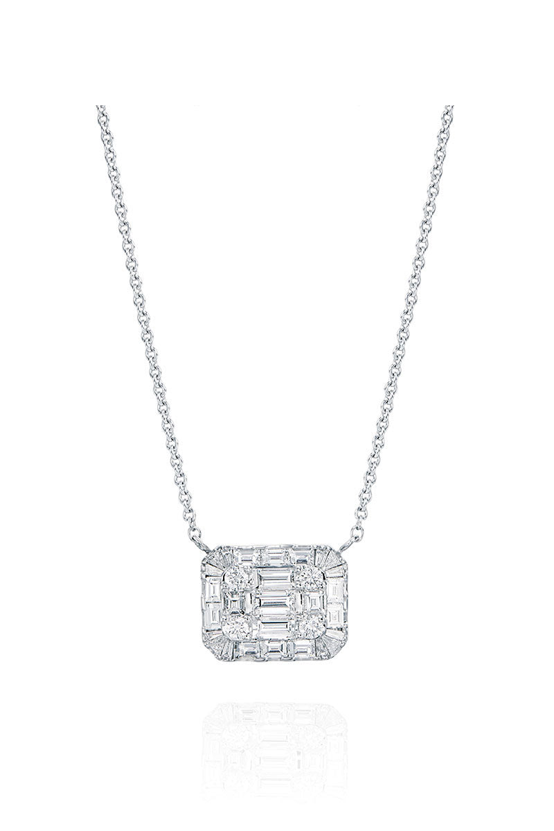 Boyds Essentials, 18kt White Gold Diamond Pendant