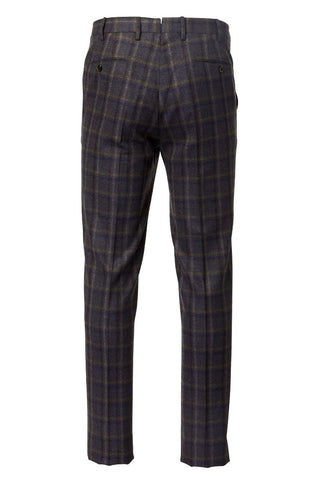PT01, Brushed Plaid Trousers