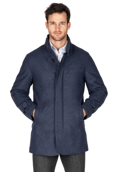 Hooded Stretch Car Coat