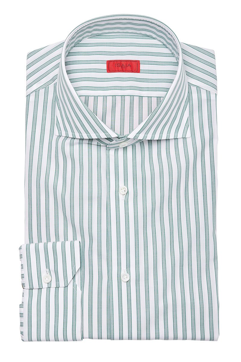 ISAIA, Striped Dress Shirt