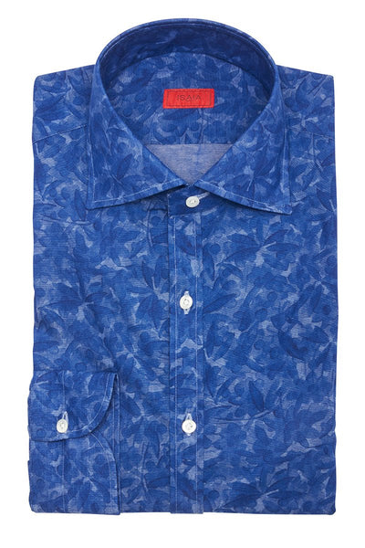 Isaia, Watercolor Floral Sportshirt