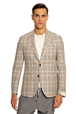 Deco Plaid Sportcoat