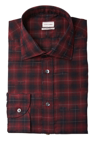 Luciano Barbera, Ombre Plaid Sportshirt