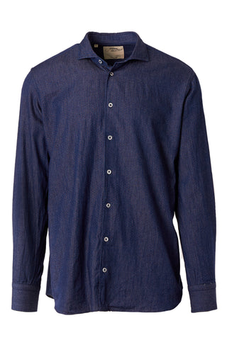 Micro Dot Denim Sportshirt