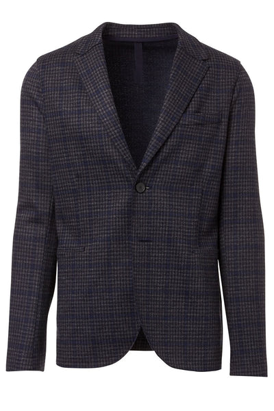 Windowpane Checked Blazer