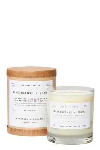 Manready Mercantile, Frankincense & Orange Candle