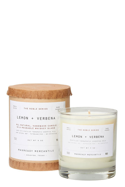 Manready Mercantile, Lemon & Verbena Candle