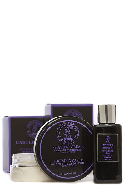 Castle Forbes, Lavender Shaving Essentials