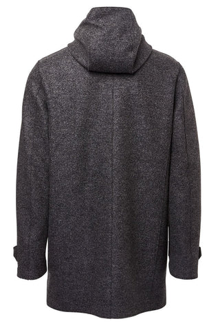 Harris Wharf London, Hooded Wool Coat