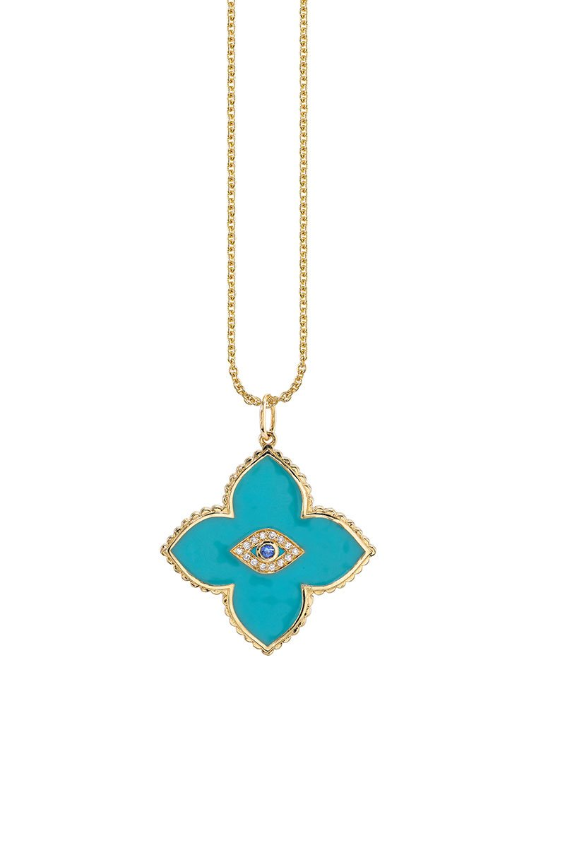 Sydney Evan, Moroccan Flower Necklace