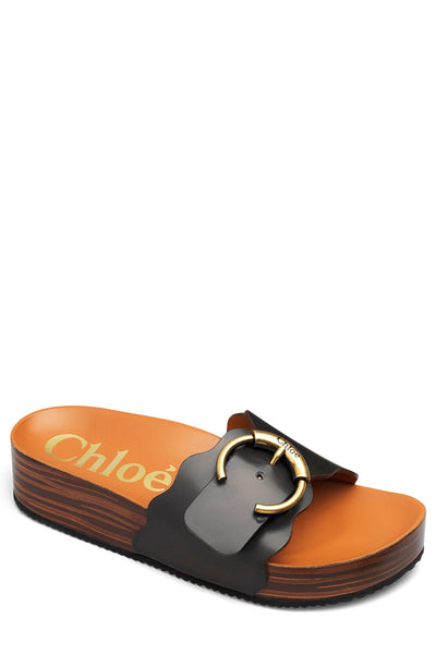 Ingrid Footbed Mule Slides