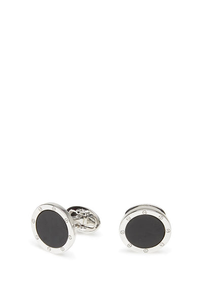 Jan Leslie, Rivet-Detail Tuxedo Stud & Cufflink Set