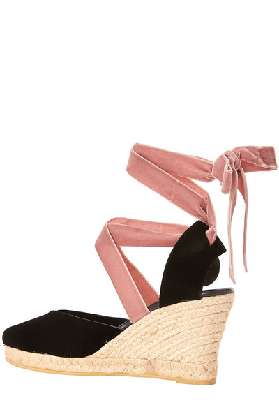 Gia Couture, Lace-Up Espadrilles