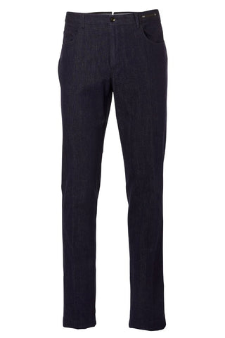 , Denim Business Trousers