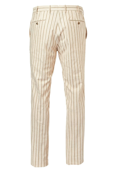 PT01, Slim Fit Striped Trousers