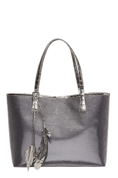 Nancy Gonzalez, Erica Coated Linen Tote