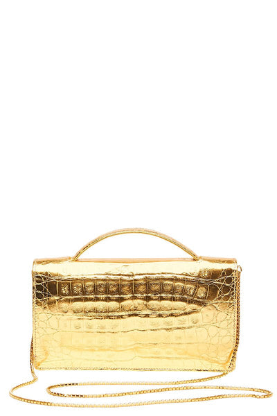 Nancy Gonzalez, Linda Metallic Clutch