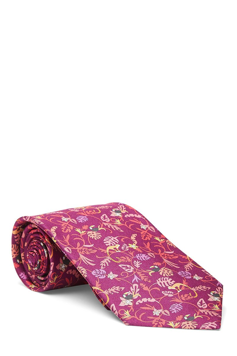 Salvatore Ferragamo, Jungle Print Tie