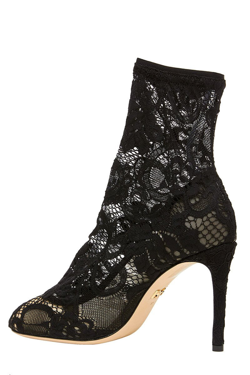 , Bette Stretch Lace Ankle Boot