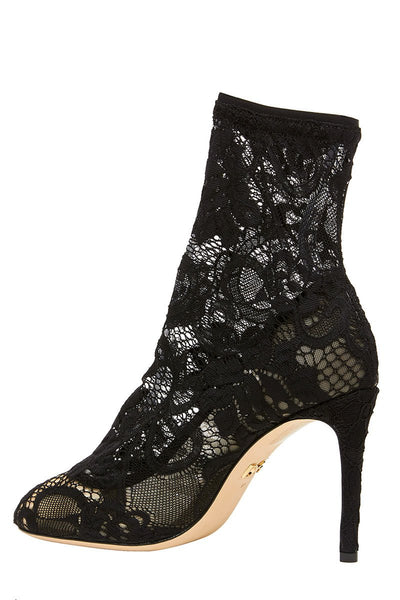 Dolce & Gabbana, Bette Stretch Lace Ankle Boot