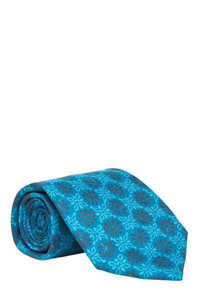 ISAIA, Flower Medallion Tie