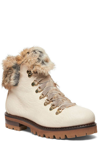 AGL, Fur Trim Mountain Boots