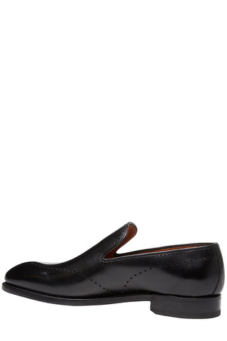 Bontoni, David Perforated Loafers