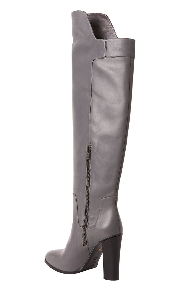 6b3e57a77a9 Dempsey Over The Knee Boots in Grey by Vince – Boyds Philadelphia