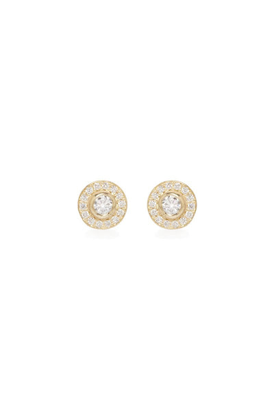 Zoë Chicco, Paris Diamond Stud Earrings