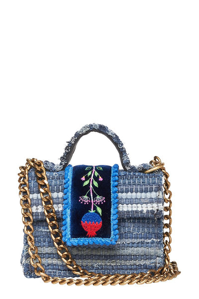 Petite Divine Jean Shoulder Bag