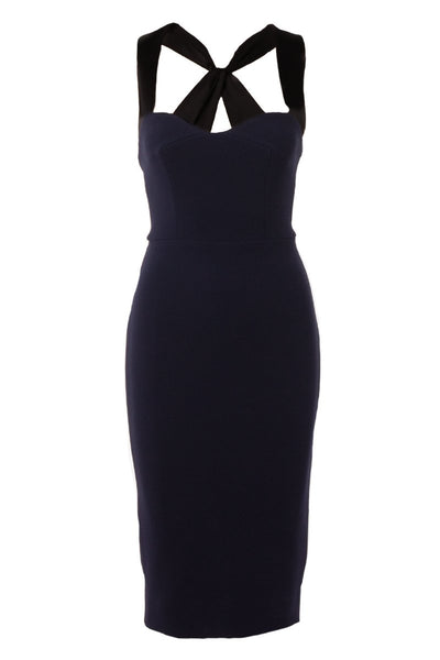 Victoria Beckham, Cross Back Fitted Cami Dress