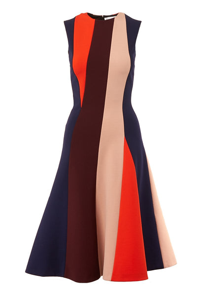 Victoria Beckham, Panel Fitted Dress