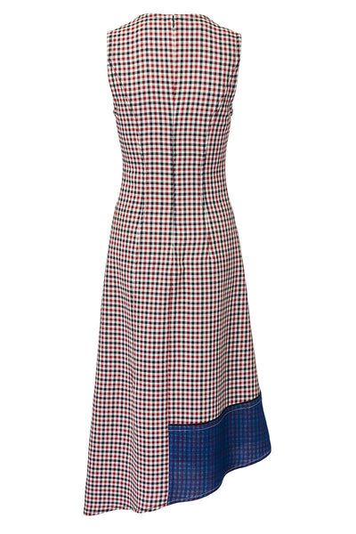 Derek Lam, Asymmetric Check Dress