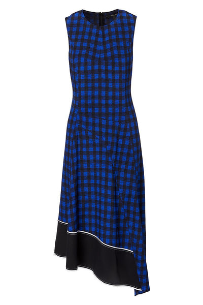 Derek Lam, Asymmetric Plaid Dress